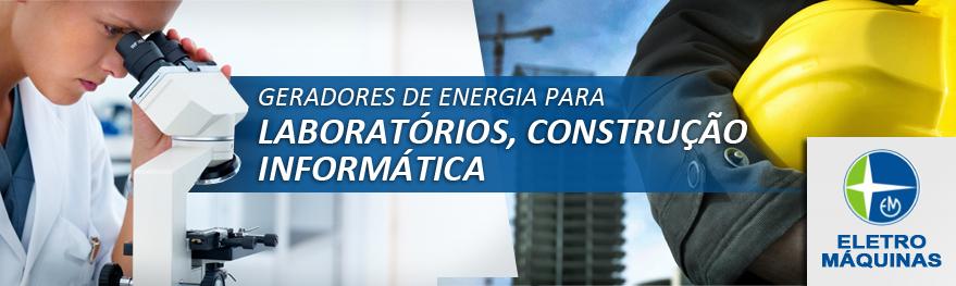 Geradores de Energia para Laboratorios, empresas, construção civil