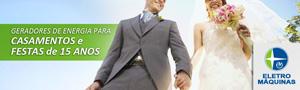 Geradores de Energia para Casamentos