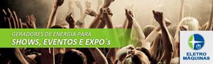 Geradores de Energia para Shows e Eventos